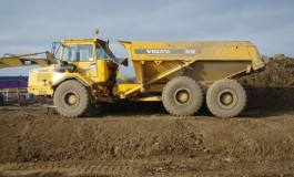 25 tonne Volvo dumper